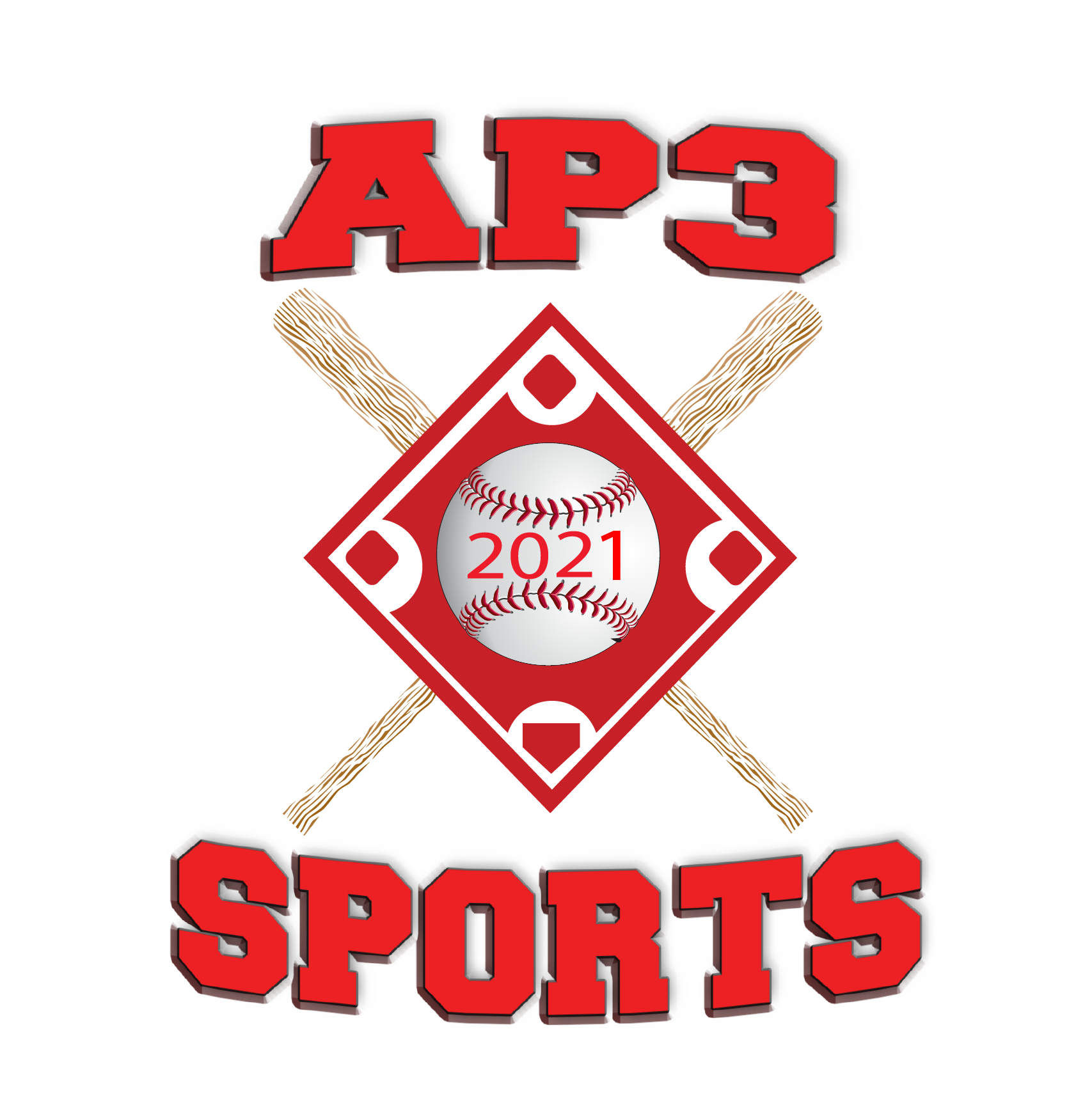 rock hill tee ball youth sports ap3 sports logo